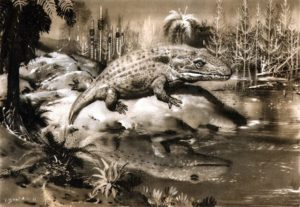 Mastodonsaurus-Burian