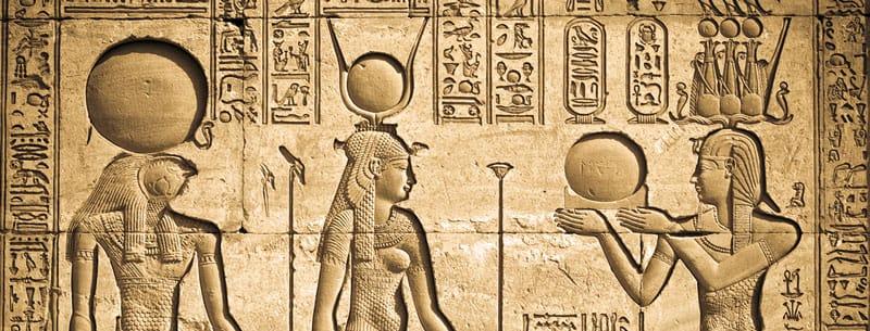 Sandías en bajorrelieve egipcio