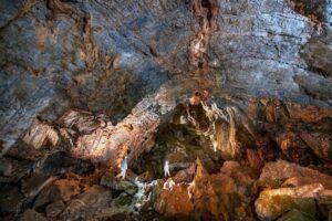 Interior cueva de Chiquihuite