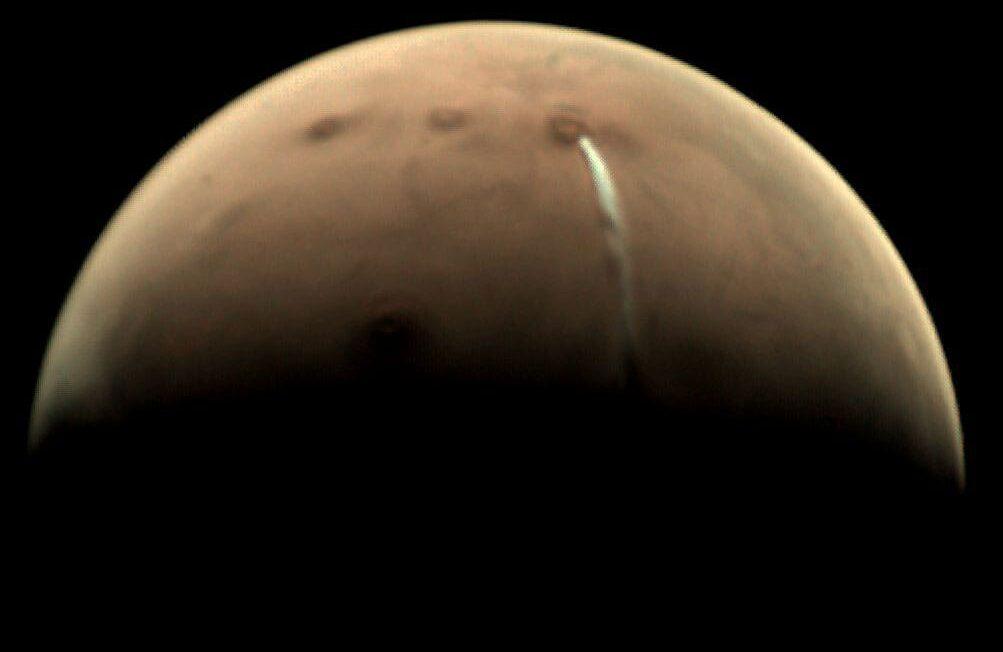 La nube marciana