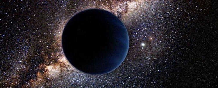 Un planeta errante (representación artística)