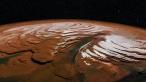 El Polo Sur marciano