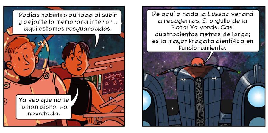 Espacio oscuro comic 2