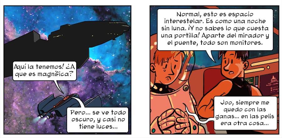 Espacio oscuro comic 3